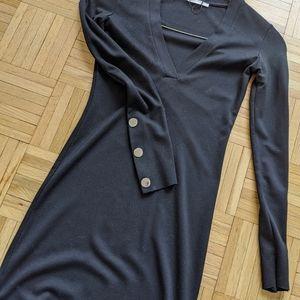 Midi black Zara dress
